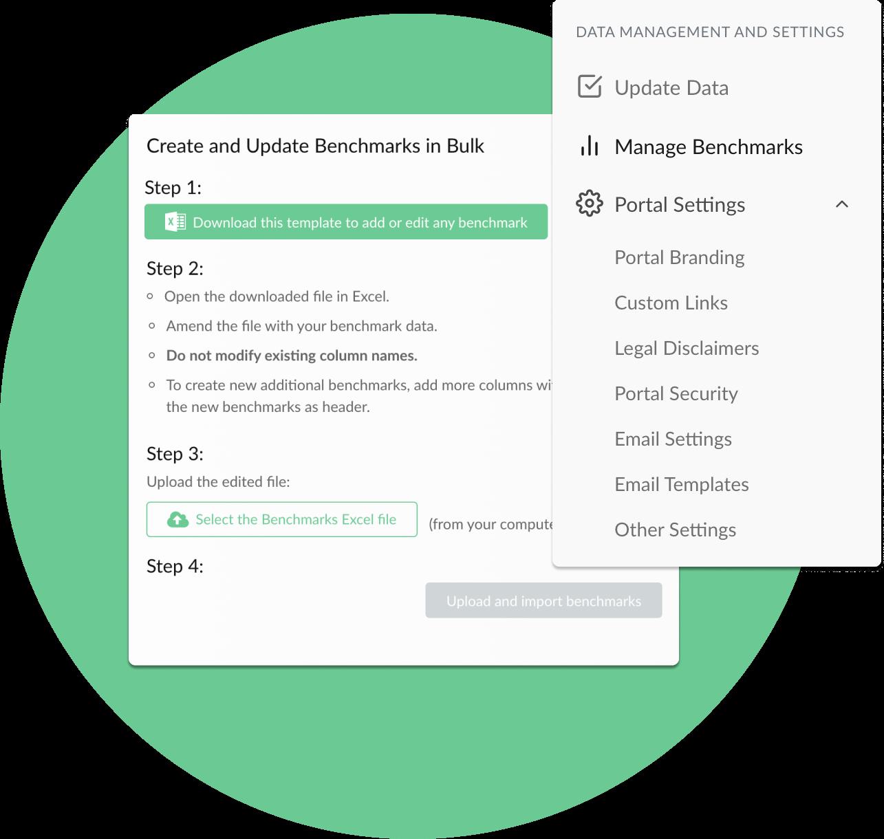 Aggregate and collect portfolio data